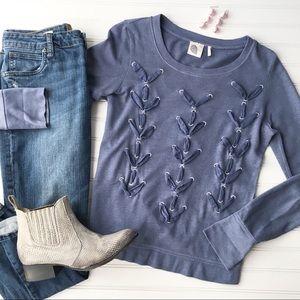 "Lilka ""Laces"" Sweatshirt | size S"